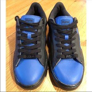 Men's Puma basket classic urban sneaker NEW blue
